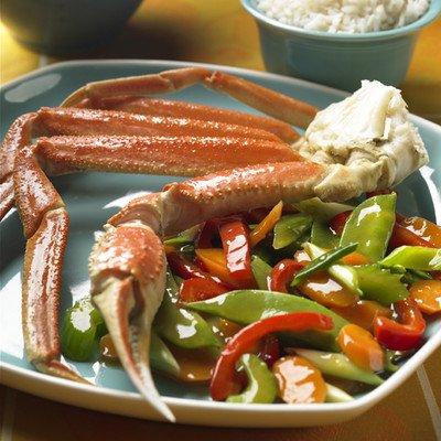 Alaska Crab Stir-Fry