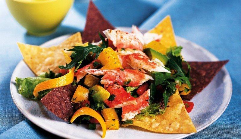 Alaska King Crab Salpicon Salad