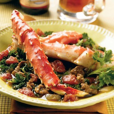 Portuguese-Style Alaska Crab Stew